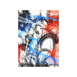 Unique Abstract Stretched Canvas Prints