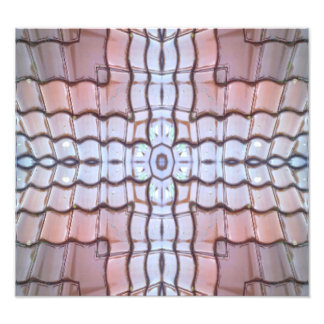 Unique abstract tiles pattern photo