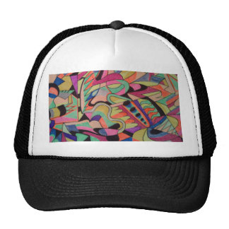 Unique Abstractions Design all colored in Cap