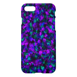 Unique Amethyst and Emerald iPhone 7 Glossy Case