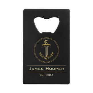 Unique anchor with name and date | Nautical Gifts