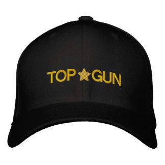 Unique And Awesome Top Gun Embroidered Hats