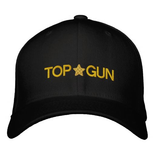 Unique And Awesome Top Gun Embroidered Hats  947c5500a45