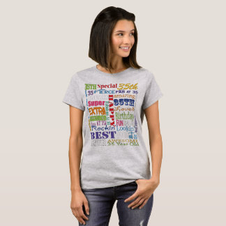 Unique And Special 35th Birthday Party Gifts T-Shirt