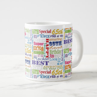 Unique And Special 65th Birthday Party Gifts Large Coffee Mug