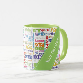 Unique And Special 80th Birthday Party Gifts Mug