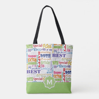 Unique And Special 90th Birthday Party Gifts Tote Bag
