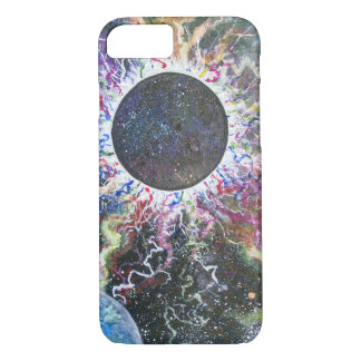 Unique art iPhone bearly there case