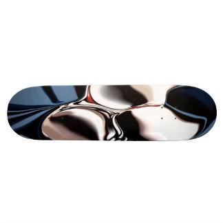 Unique art skate board deck