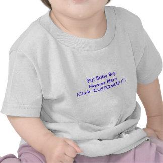 Unique Baby Boy Names Customizable Shirt