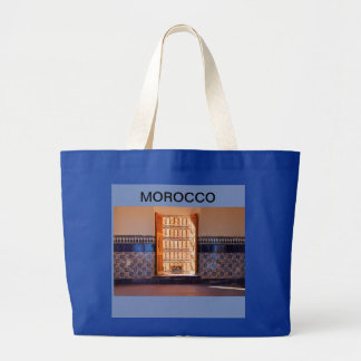Unique, beautiful and useful gift from Morocco Large Tote Bag