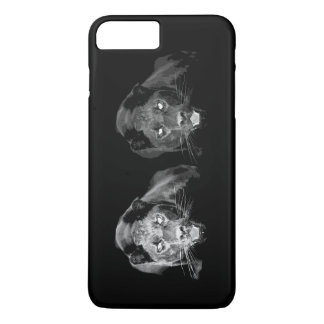 Unique Black & White Jaguar iPhone 7 Plus Case