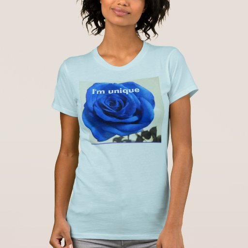 Unique Blue Rose t-Shirt
