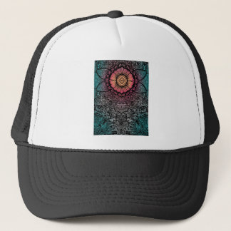 UNIQUE BOHEMIAN PATTERN TRUCKER HAT