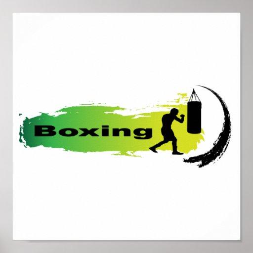 Unique Boxing Poster