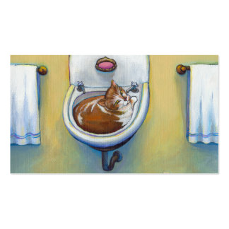 Unique business cards for cat rescues or plumbers