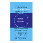Unique Business Deep Blue Edgy Designer Pack Of Standard Business Cards
