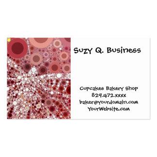 Unique Butterfly Dragonfly Mosaic Mauve Color Business Card Templates