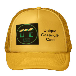 Unique Casting® Official Registered Cast Hat
