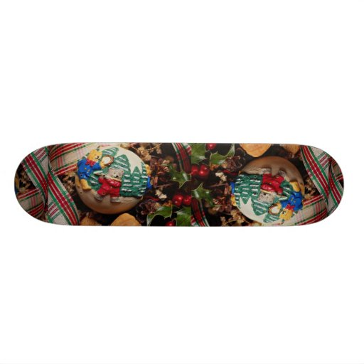 Unique Child's Christmas ball Skateboard Deck