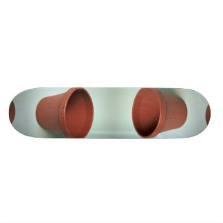 Unique Clay pot Skateboard