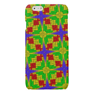 Unique colorful abstract pattern iPhone 6 plus case