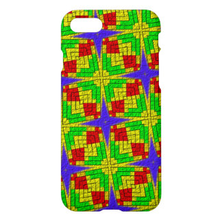 Unique colorful abstract pattern iPhone 8/7 case