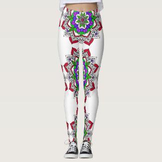 Unique Colorful Mandala  Leggings