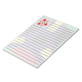 Unique colorful nice pattern notepad