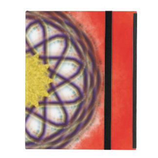 Unique colorful pattern iPad case