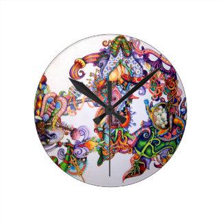 UNIQUE COLORFUL TIBET MANDALA ART CLOCK