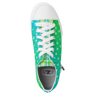 Unique Comfort Low Top Shoes - RIPP-b Printed Shoes
