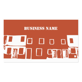 Unique Construction Building Artwork Pack Of Standard Business Cards