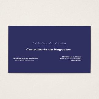 Unique Cool Simplicity Plain Business Card