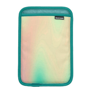 Unique Coral & Turquoise Luxury Decorative Pattern iPad Mini Sleeve