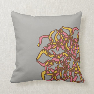 Unique cushion with funky design