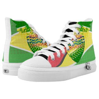 Unique custom Sneakers Guyana 50th Anniversar