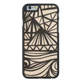 Unique Cute Cool iPhone 6 Case Carved® Maple iPhone 6 Case