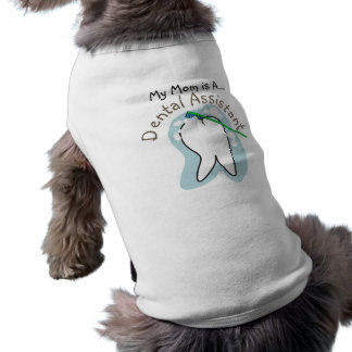 Unique Dental Assistant Gifts Sleeveless Dog Shirt