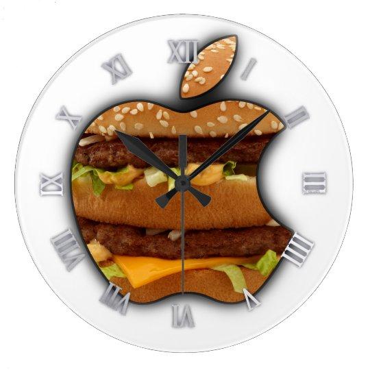 Unique design Apple wall clock