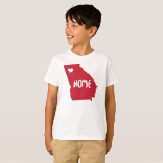 Unique design Georgia State Home tshirt for Men, W