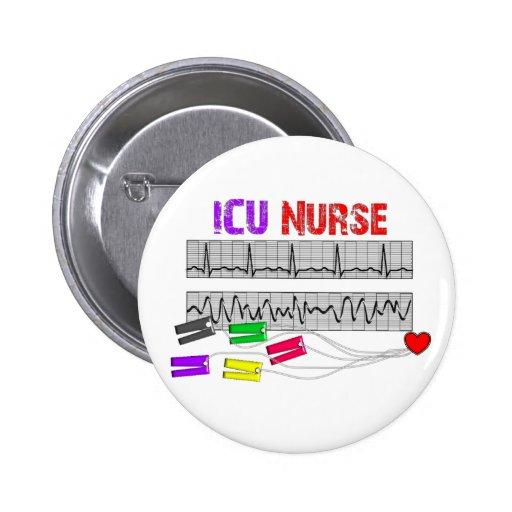 Unique Design ICU Nurse Gifts Buttons