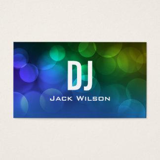 UNIQUE DJ BUSINESS CARD   Blue