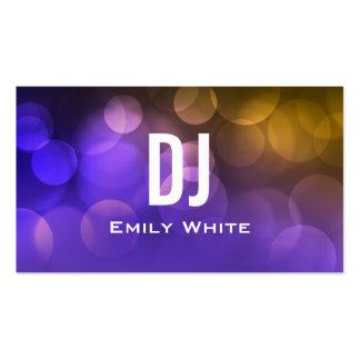 UNIQUE DJ BUSINESS CARD | Purple