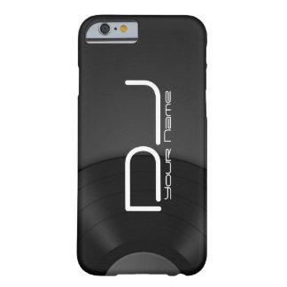 Unique DJ iPhone 6/6s case with Vinyl Background