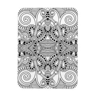 Unique Doodle Magnet