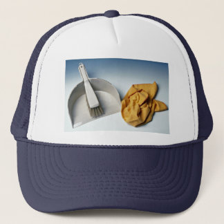 Unique Dustpan, brush and duster Trucker Hat