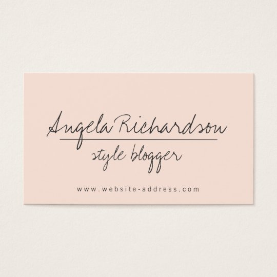 Unique Edgy Handwritten Style Bloggers, Crafters 2 Business