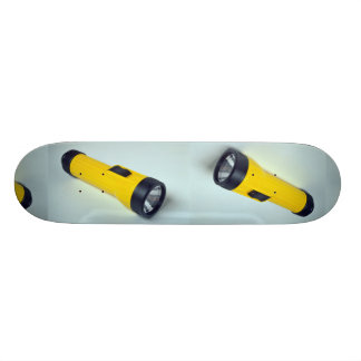 Unique Flashlight Skateboard