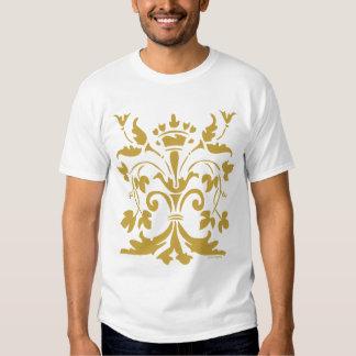 Unique Fleur de lis Queen (antique gold) Shirts